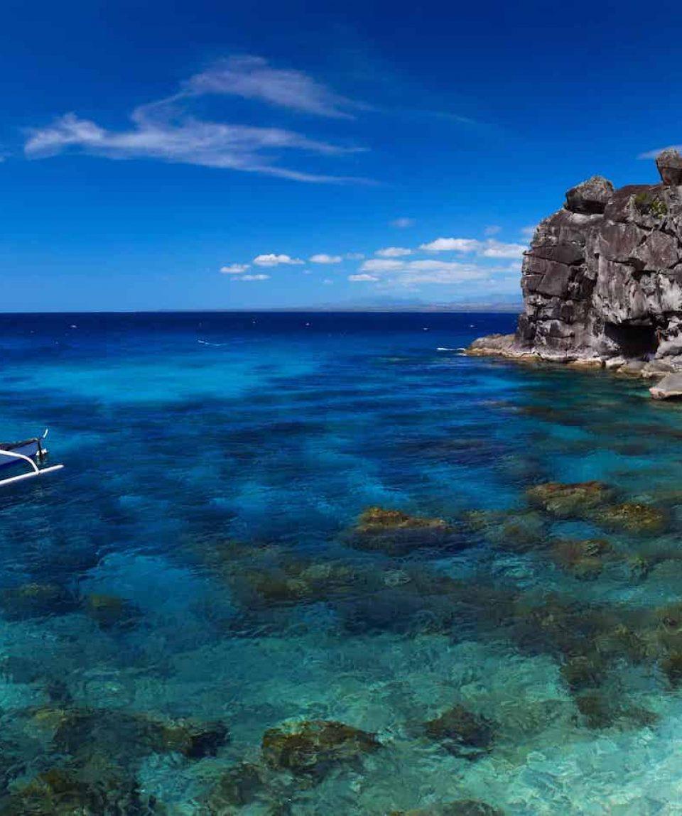 Snorkeling in Apo Island, Philippines