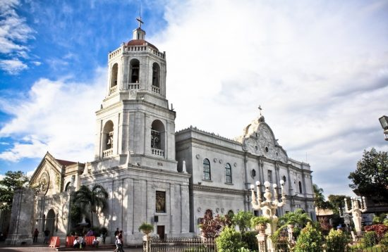 Exterior of Cebu's Cathedral