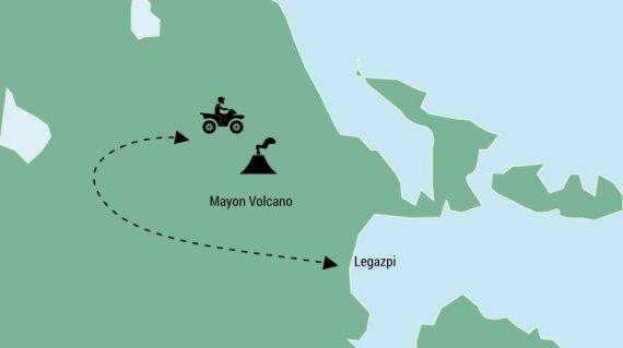 Mayon Volcano day trip from Legazpi, Philippines