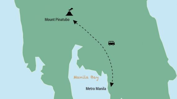 Mount Pinatubo day trip from Manila