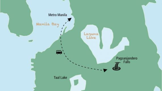 Pagsanjan Falls Day trip from Manila