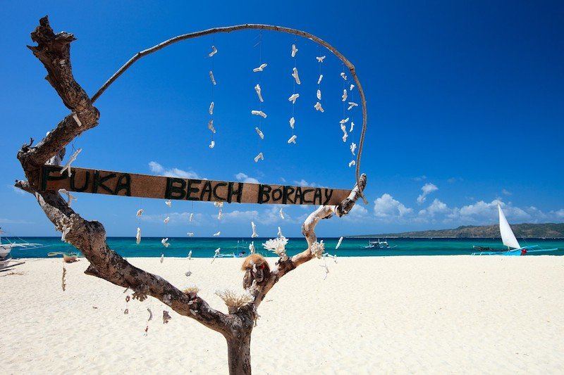 Puka Shell Beach Boracay Island