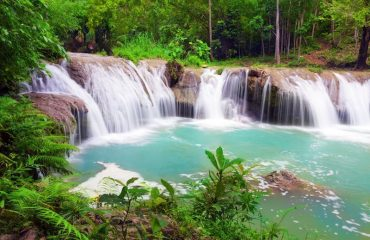 Day trip to Siquijor Island's Waterfalls, Philippines