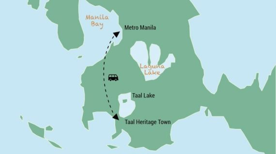 Day trip Taal Heritage town