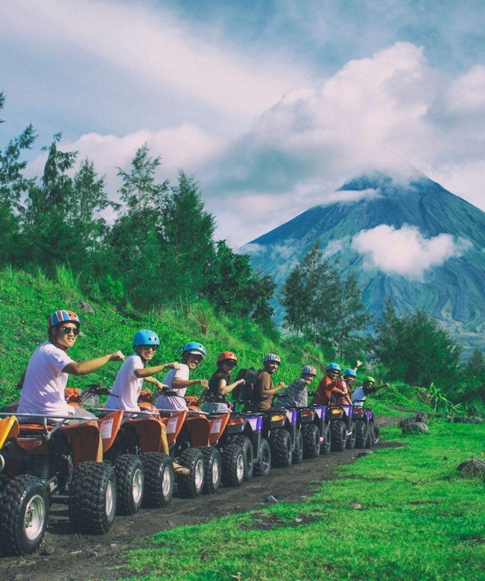 ATV Adventure on Mayon Volcano day trip from Legazpi, Philippines