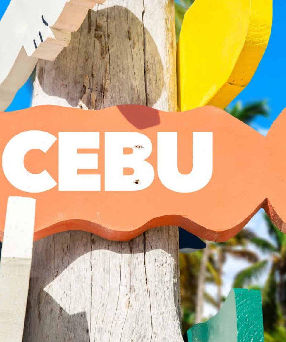 Cebu  road signs, Philippines