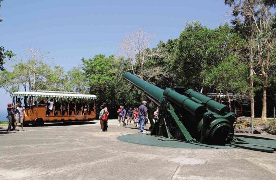 Cannon in Corregidor island