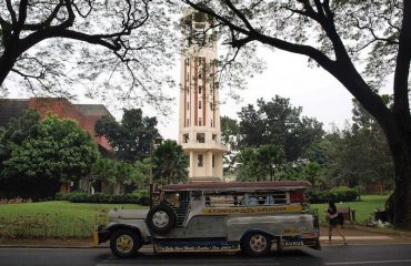 A jeepney in Manila, Philippines