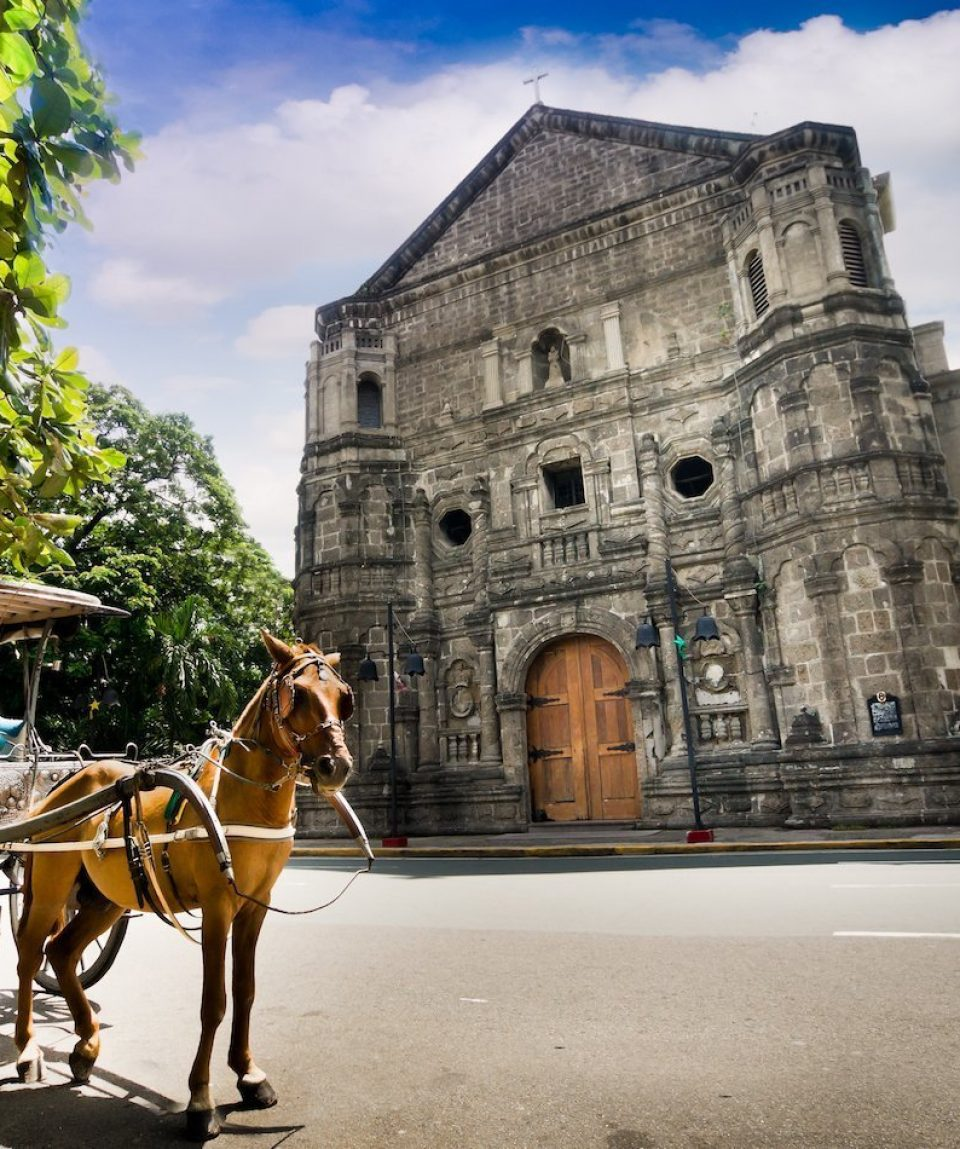 Malate church , Manila city tour, Philippines
