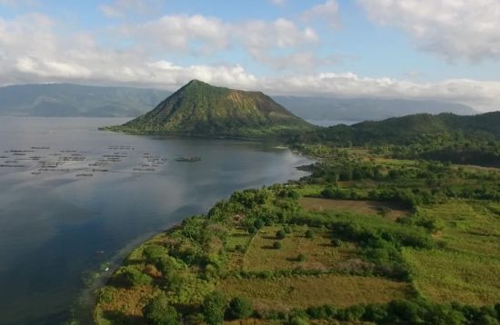 A stunning views of Taal Volcano