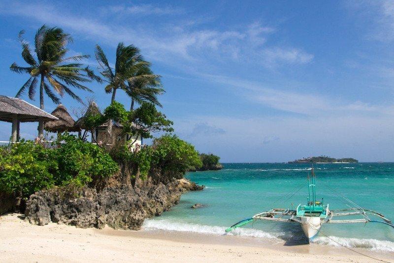 Tambisaan Beach Boracay Island