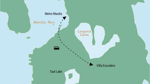 Day trip to Villa Escudero