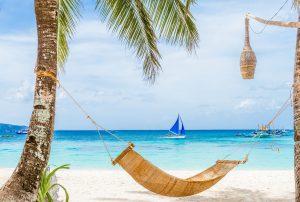 Beach vacation in Boracay's White Beach