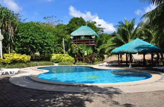 Swimming pool at Busuanga Island Paradise Hotel