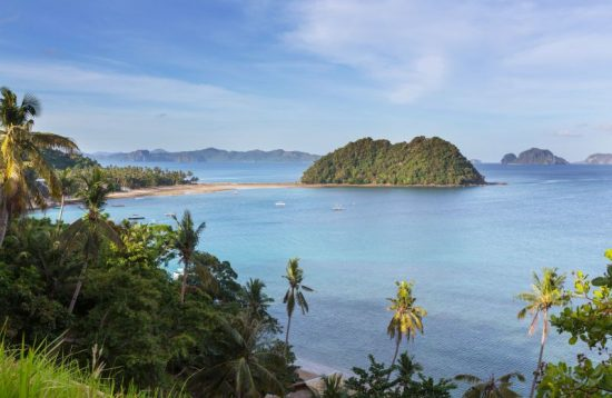 Las Cabanas Beach is one of the most popular beaches in El Nido Palawan
