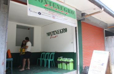 Montenegro's Ferry Sales Office in El Nido