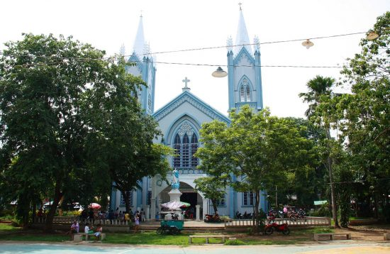 External View of the Puerto Princesa Cathedral