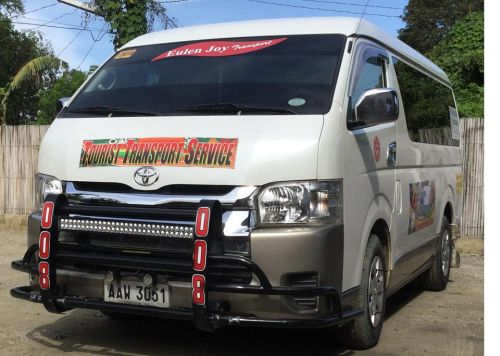 Vehicle that we use for transfer to El Nido