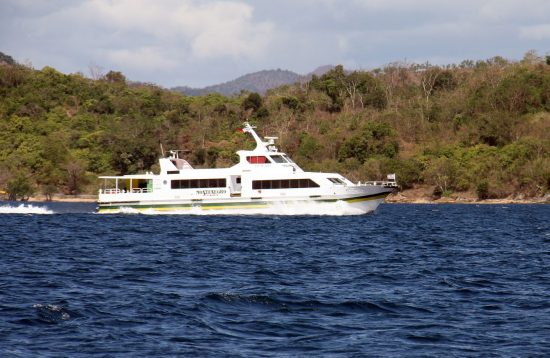 Montenegro Fast Ferry sailing from El Nido to Coron