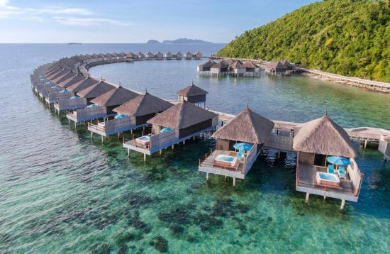 Water Chalet at Huma Island Resort