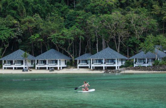 Beach area at Lagen Island El Nido Resort