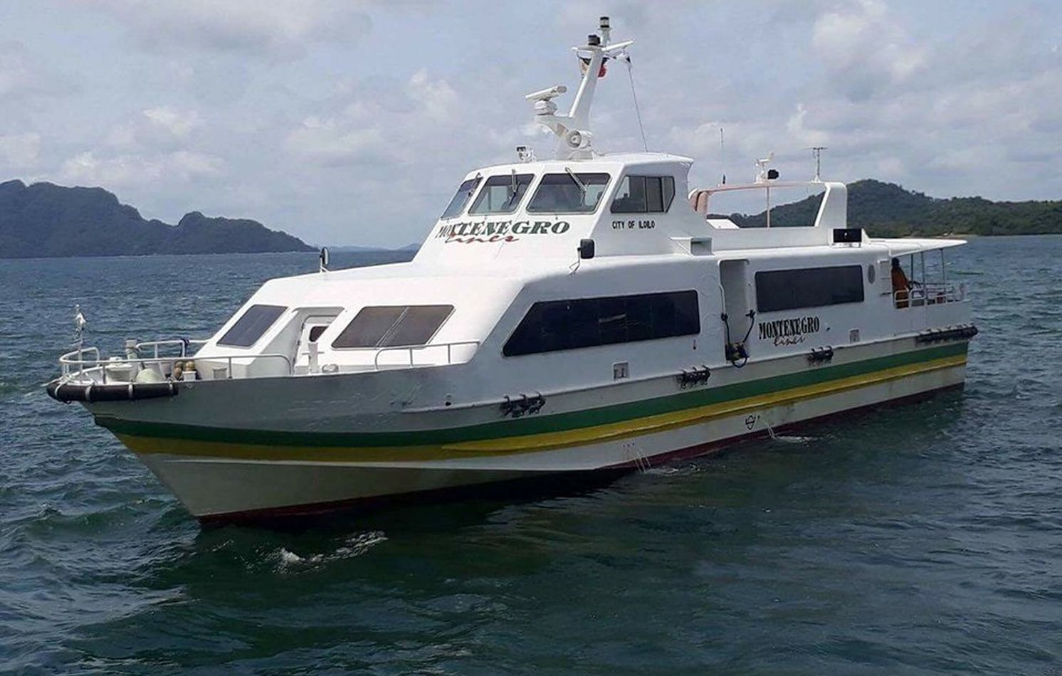 Montenegro Shipping Lines Fast Ferry