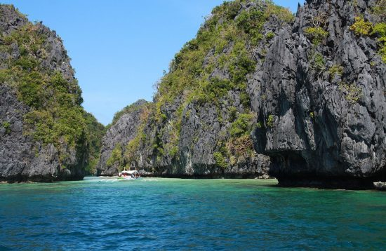 Exploring the Big Lagoon in El Nido's Bacuit Bay