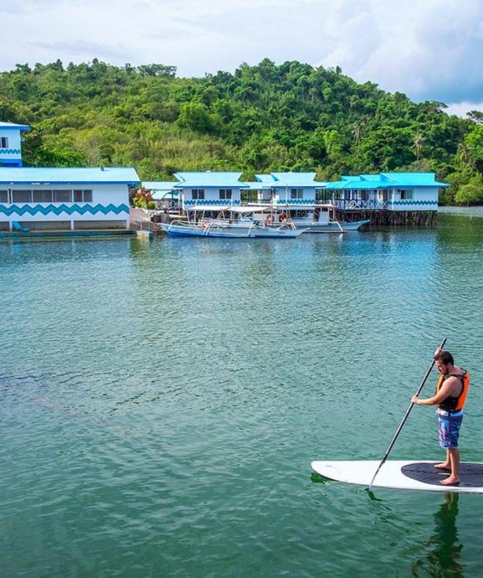 Coron Underwater Garden Resort 3 Stars Resorts Hotels Coron Palawan