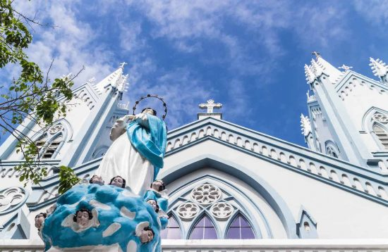 Immaculate Conception Cathedral is one of the highlight of Puerto Princesa's city tour