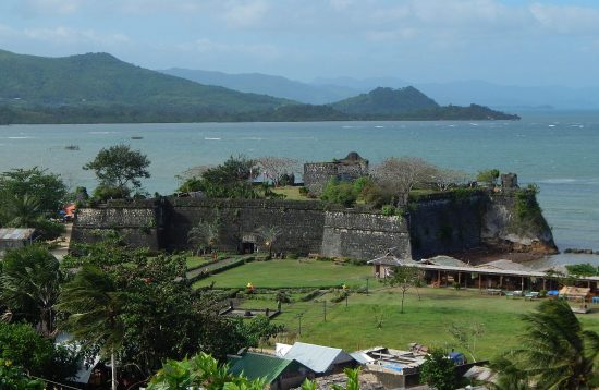 View of the Taytay Spanish Fort