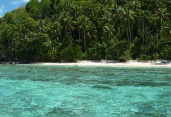 Deserted island in Palawan
