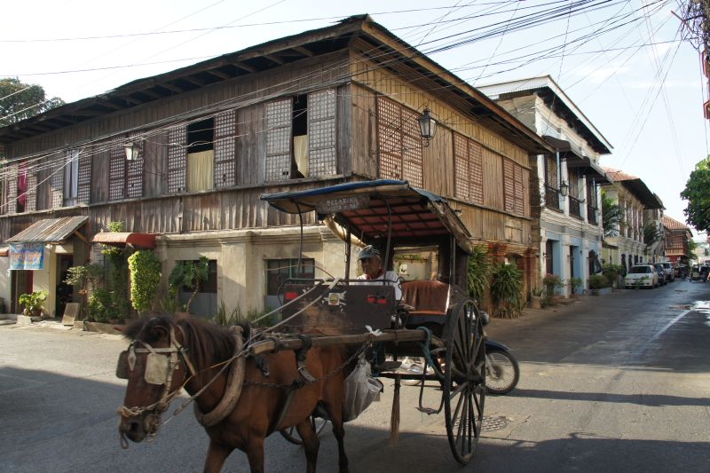 horse-drawn carriage used in Vigan