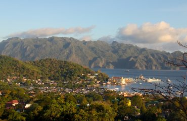Coron Town Panoramic view