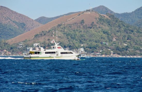 Montenegro's fast craft sailing from Coron to El Nido