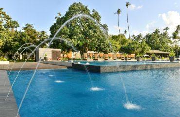 Swimming pool at the Seda Lio Resort, El Nido