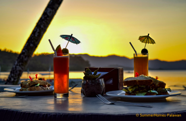 summer-homes-port-barton-sunset