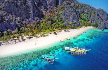 Day trip to Black Island, Coron, Palawan