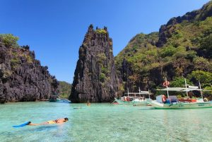 Day trip to El Nido's Bacuit Bay with private boat